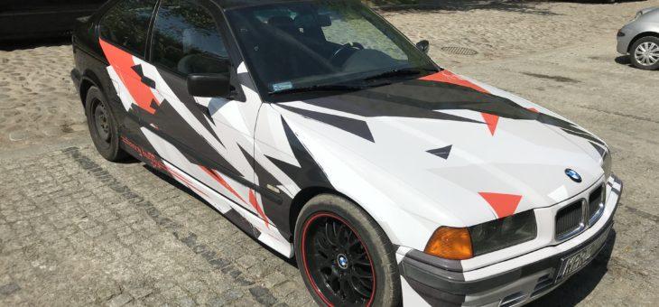 Oklejania samochodu BMW E36